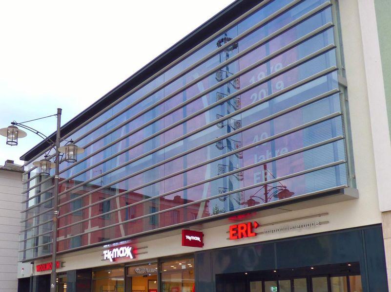 Brandschutz im Firmengebäude der Firma ERL und anderen Unternehmen